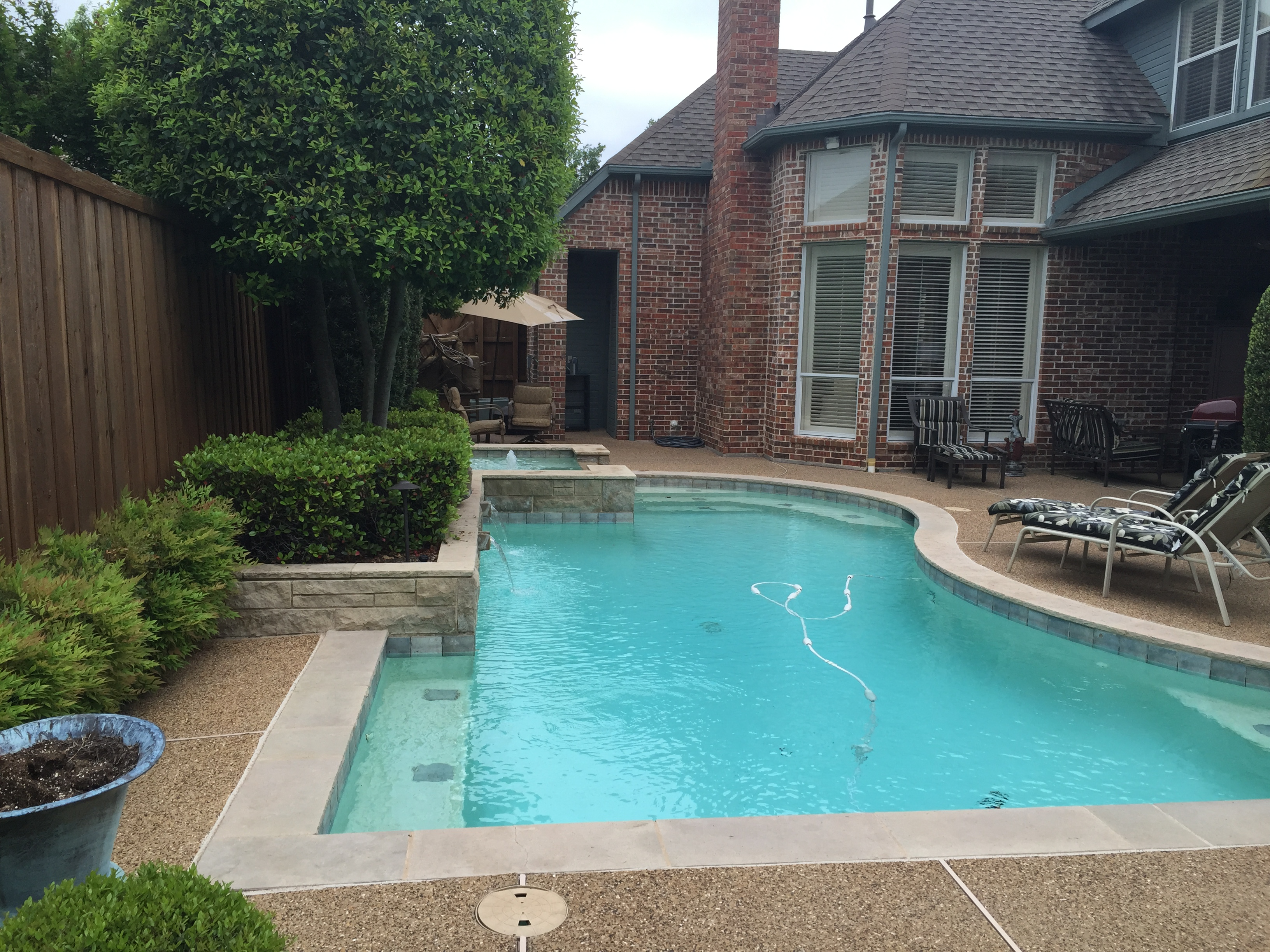 Pool remodel builds all tex pools for Pool remodeling