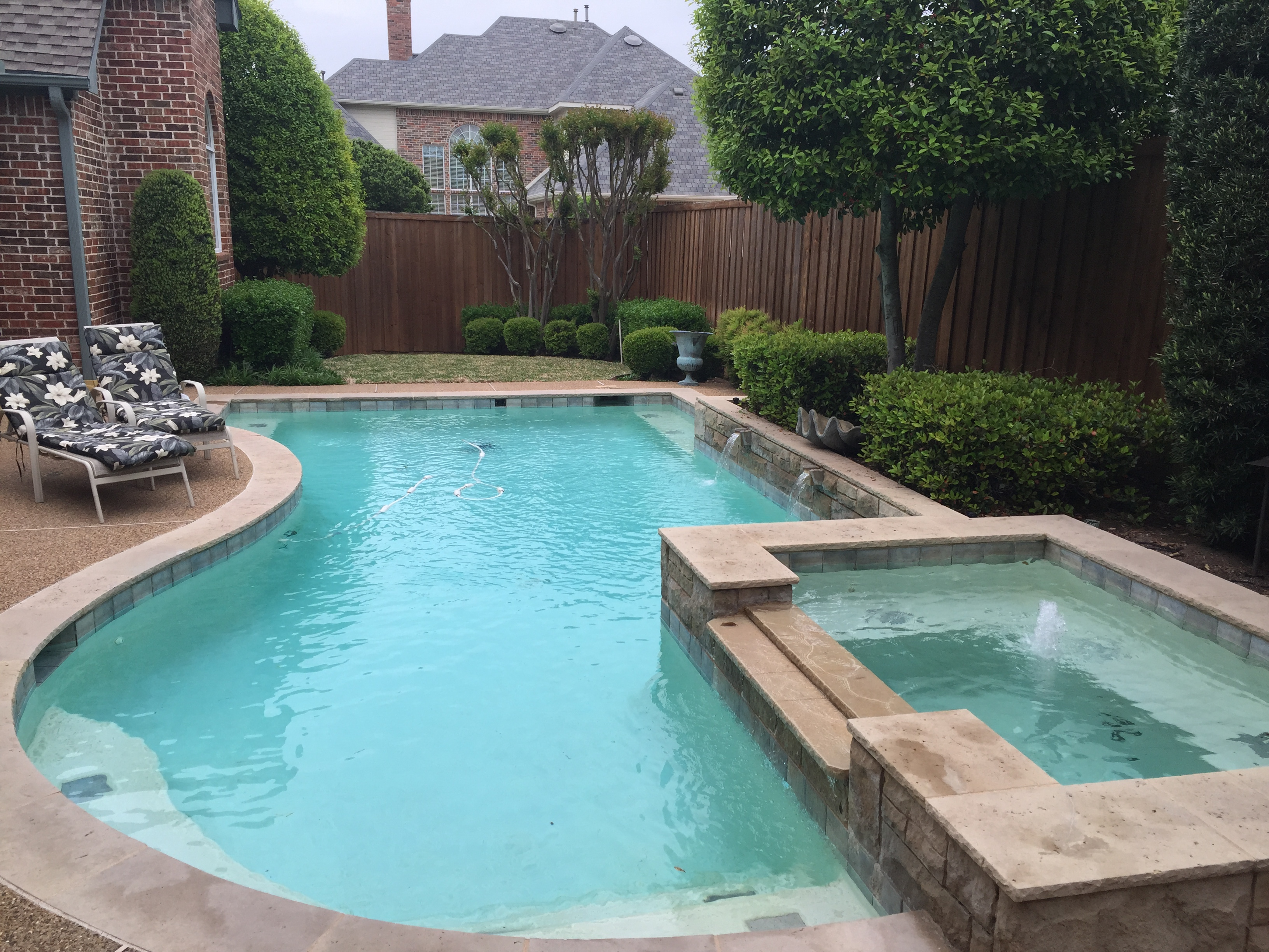 Pool remodel builds all tex pools for Pool redesign