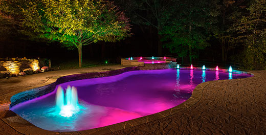 Custom Pool Lighting